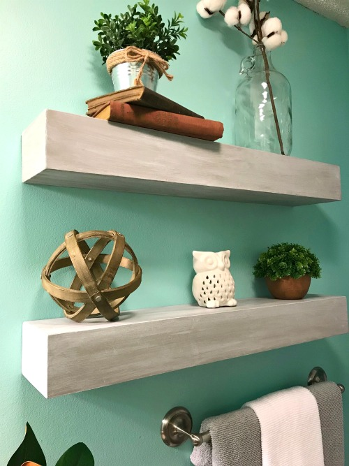 How to build a seamless diy floating shelf - What did the wall say to the bookcase ...