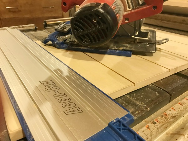 How to use a Kreg AccuCut to cut fake drawer slots