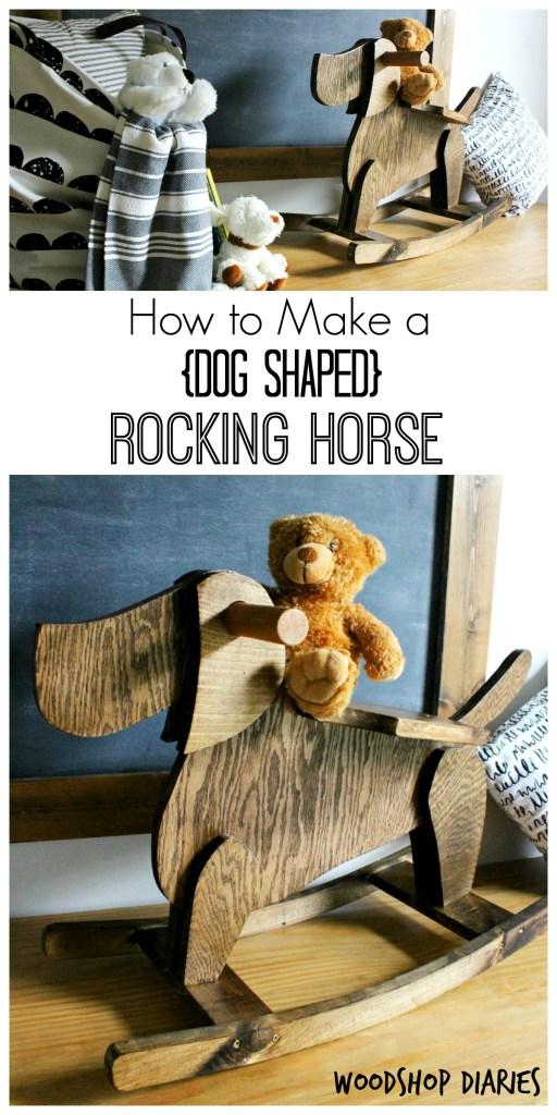 Diy Kids Rocking Horse Dog