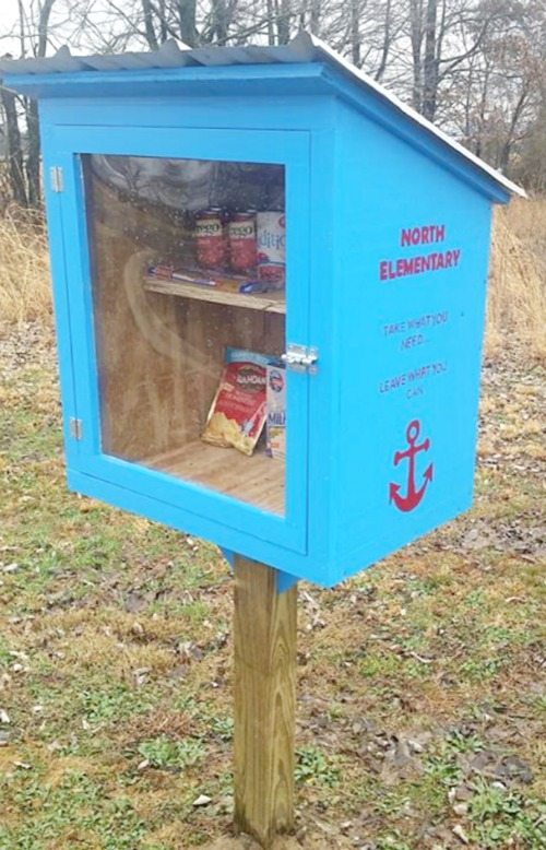 How to Build a DIY Community Pantry Box