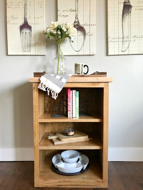 How To Build A Simple Little DIY Bookshelf