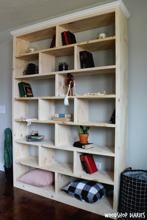 so what do you think something youd try i would love it if youd pin any of the images above for later - Bookshelves Diy