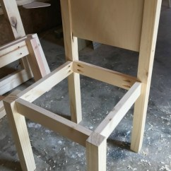 How To Make A Plywood Chair Cover Rentals Albuquerque Build Diy Kids Play Table And Chairs Free Building Plans Step 7 Add Seat Child S