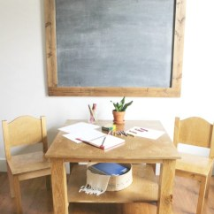 Kids Table With Chairs Backless Desk Chair How To Build A Diy Play And Free Building Plans Your Own Kid S
