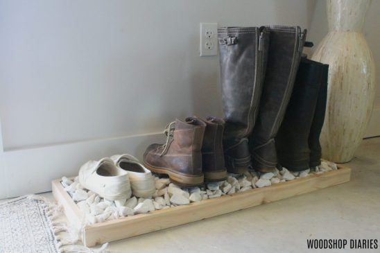 How to Build a Simple Modern Boot Tray