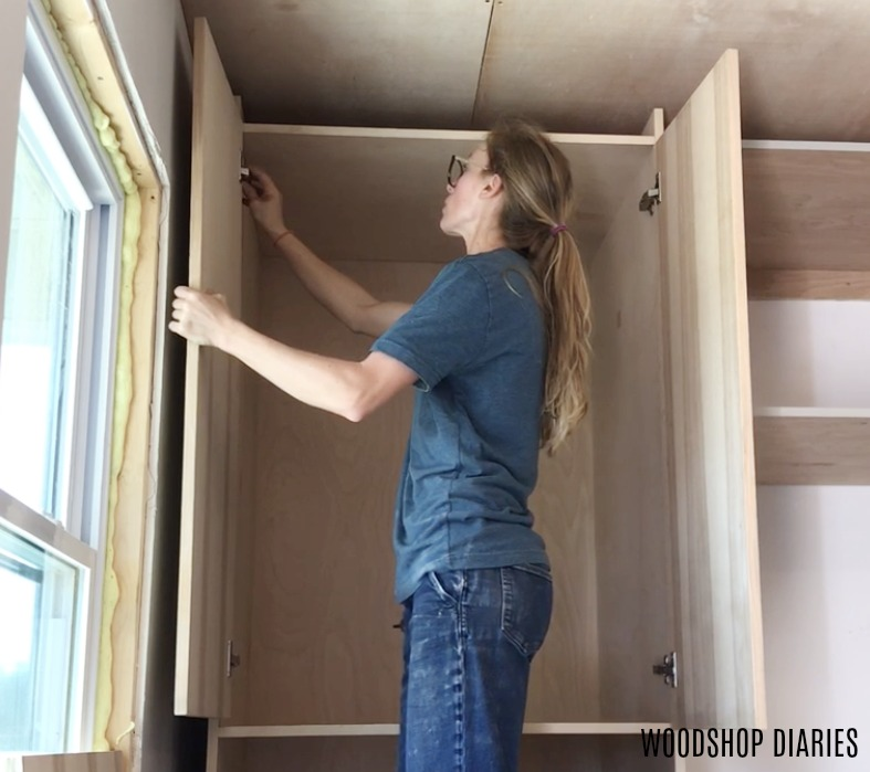 How to Build Your Own DIY Kitchen Cabinets--From Only Plywood