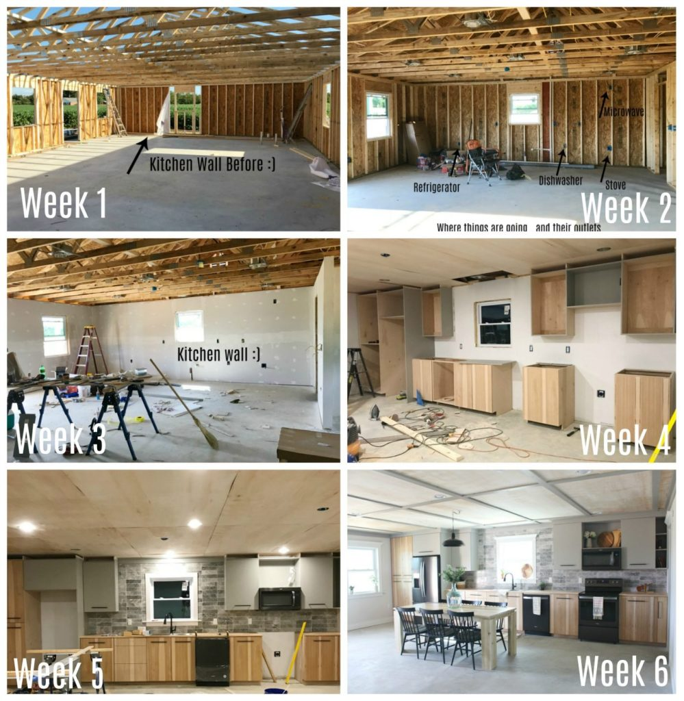 Six Week Major Kitchen Transformation in the Jeffrey Court Fall Renovation Challenge Final Reveal