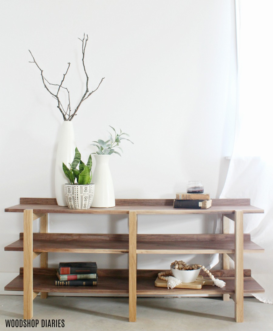100 knockoff project diy modern shelf