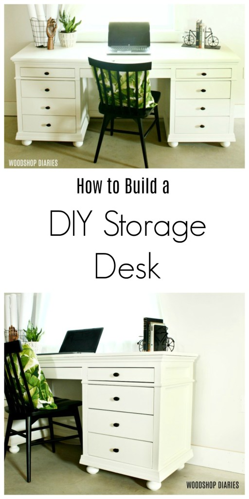 Build Your Own DIY Storage Desk with 9 Drawers with This Video Tutorial and Building Plans