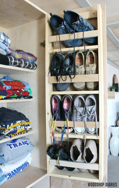 How to Build a Closet Cabinet with Shoe Storage