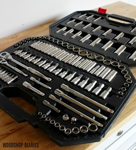 125 Piece Husky Tool Set in Case