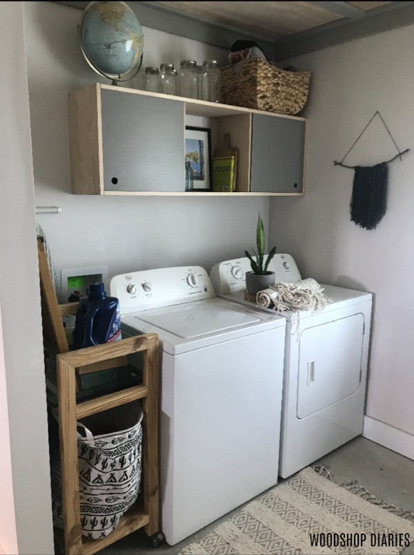 Laundry Room Refresh Project Before