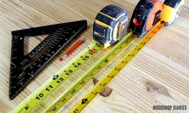 Workshop MVP number--tape measure