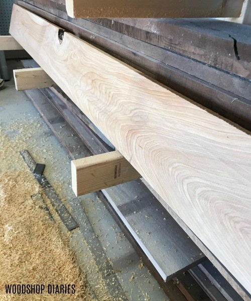 Cypress board for building serving tray