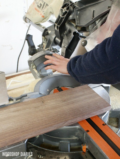 bevel miter saw to 30 degrees
