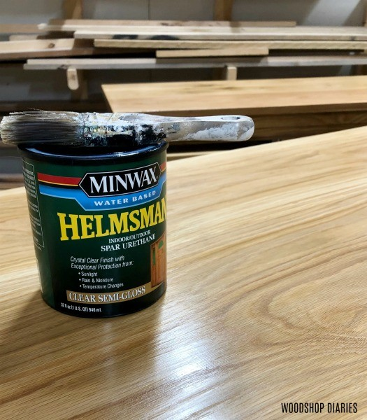 Minwax Helmsman poly finish