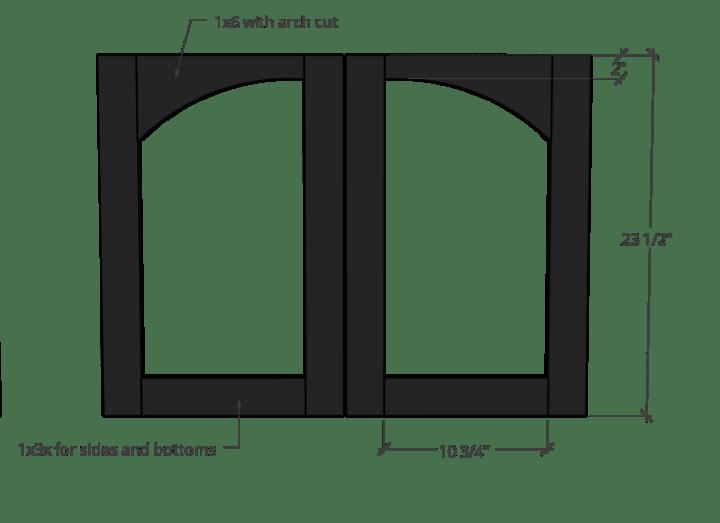 door sizing dimensions