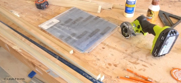 acrylic plexiglass sheets ready to cut for DIY picture frames