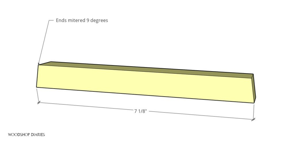 bottom section frame piece diagram