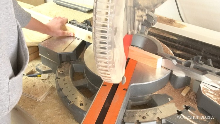 cutting tray sides for octagon shapes