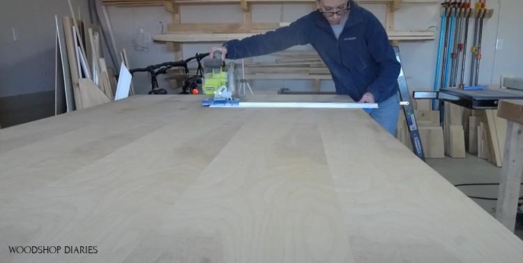 Rip cut to rip cut plywood