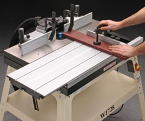 Fox Sliding Router Table Adds Safety - Woodshop