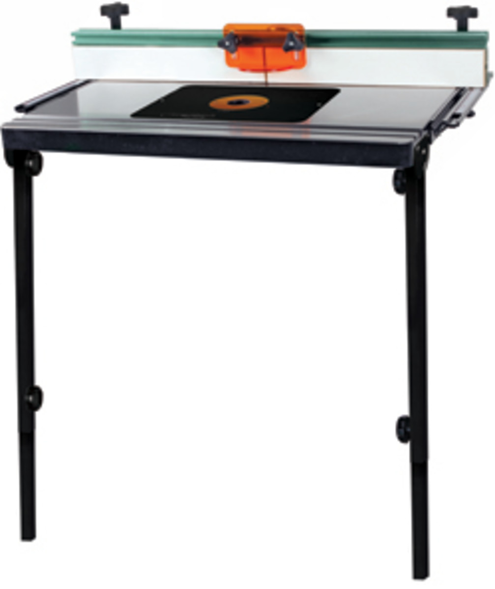 Cast Iron Table Saw Extension Router