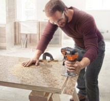 Ridgid Adds Cordless Compact Router - Woodshop