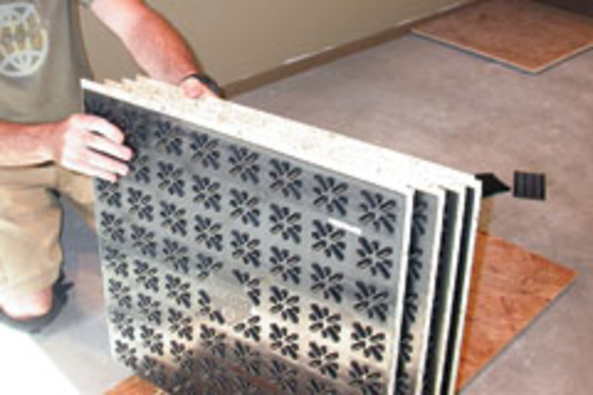 DRIcore makes it easier on your feet  Woodshop News