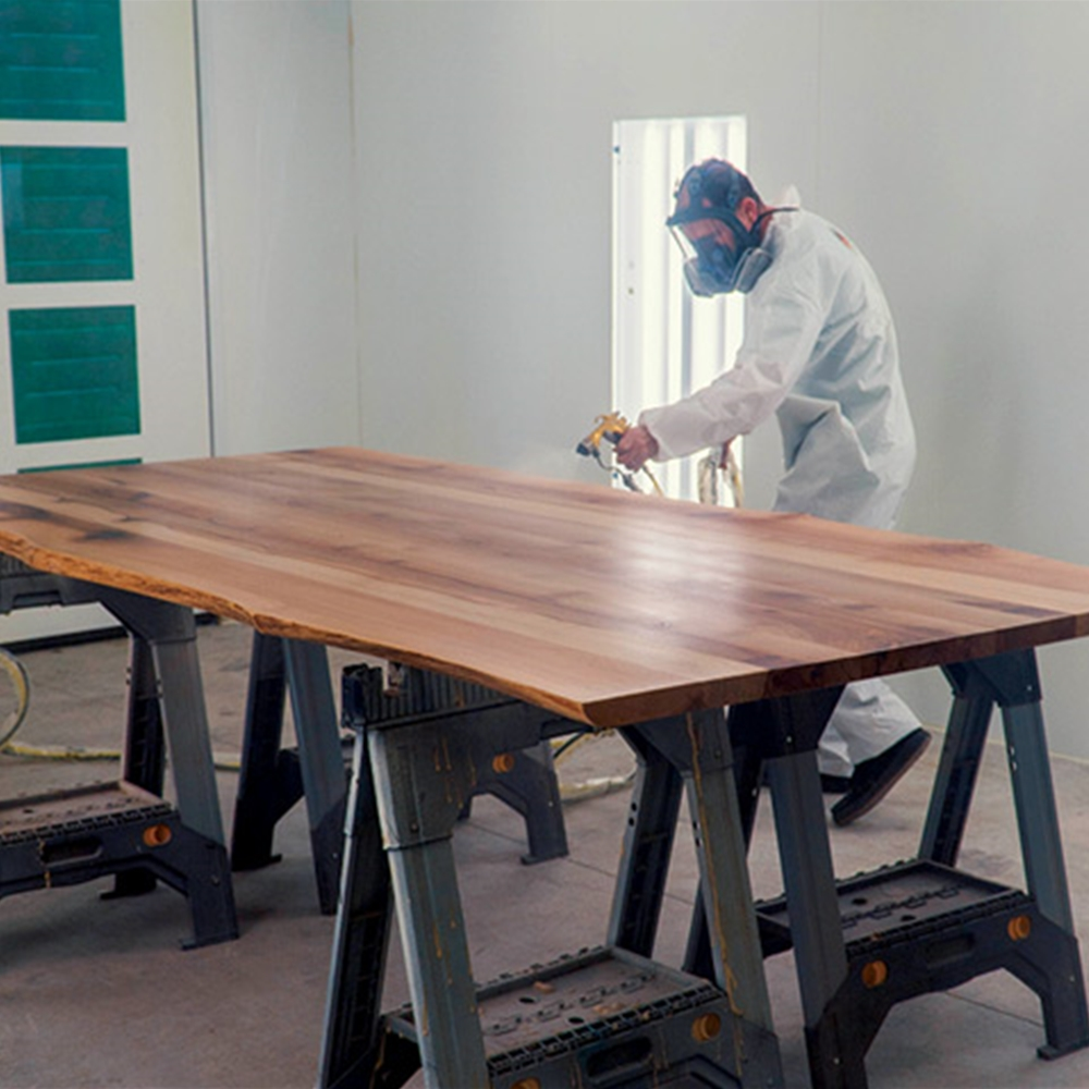 How To Finish A Wood Slab Table