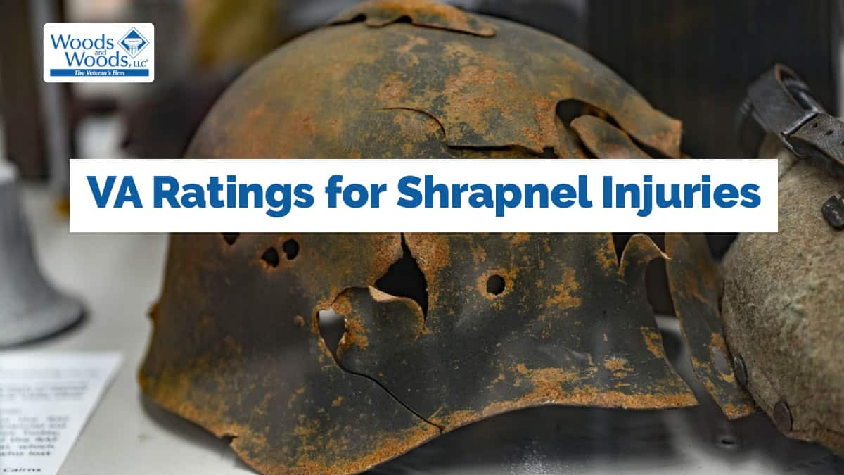VA Disability for Shrapnel Wounds and Their Long-Term Effects