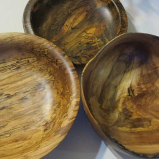 click here for wood turned items