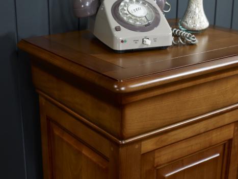 Mueble recibidor Andrea hecho de cerezo macizo estilo