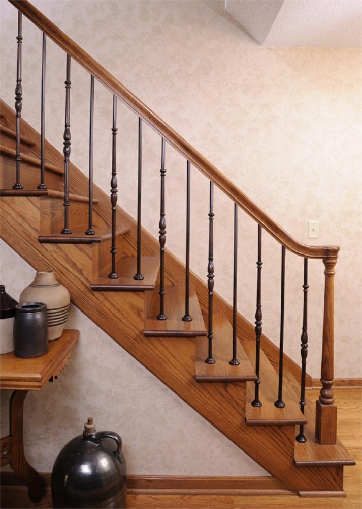 4010 Colonial Newel Wood Stair Turned Newel Posts 4010 Newel