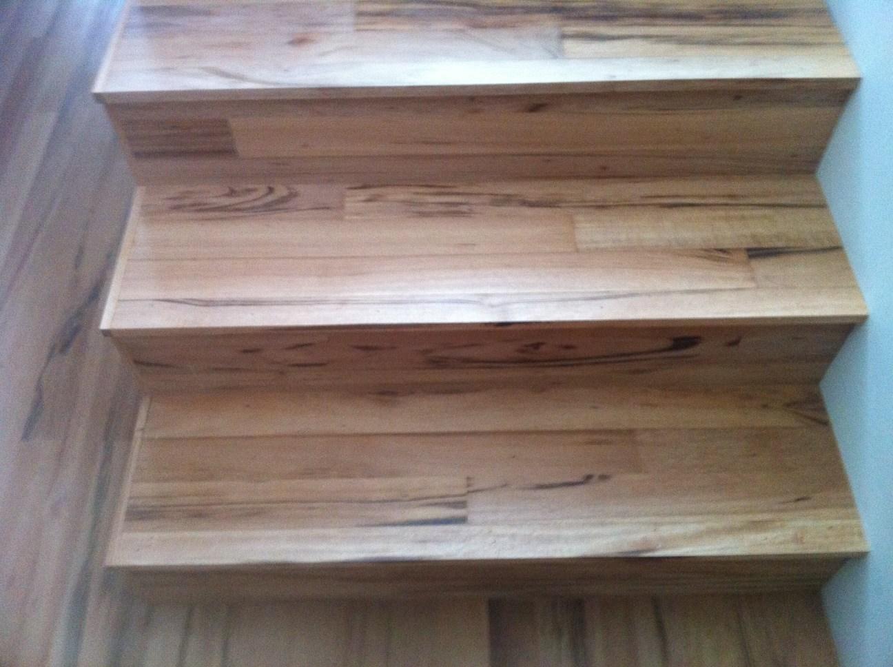 Stair Treads Using Flooring Stair Parts Blog   Hardwood Floor Stair Treads   Dark Oak   Hickory   Vinyl   Red Oak   Pergo Floor