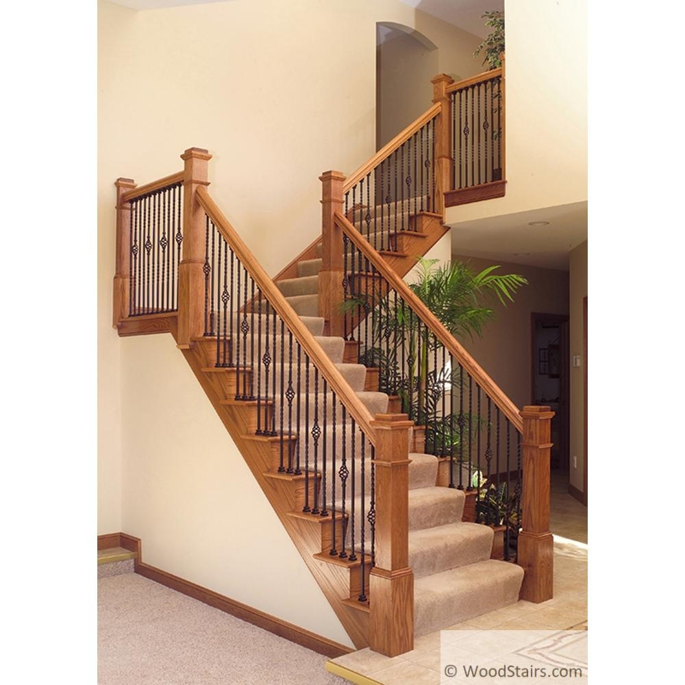 Li 1Bask44 Twist And Basket Baluster Wood Stairs Wrought Iron | Iron Balusters For Sale | Metal | Wood Iron | Indoor | Rectangular | Forged Steel
