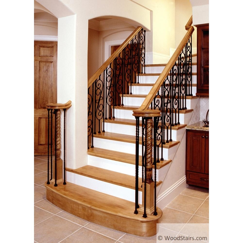 Wood Stairs6400 Handrail Wood Stairs Hand Rail Lj 6400 Profile | Wooden Handrails For Stairs Interior | Design | Brown | Simple | Wall Mounted | Indoor