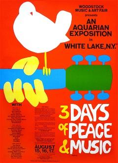 Woodstock Poster On Sale