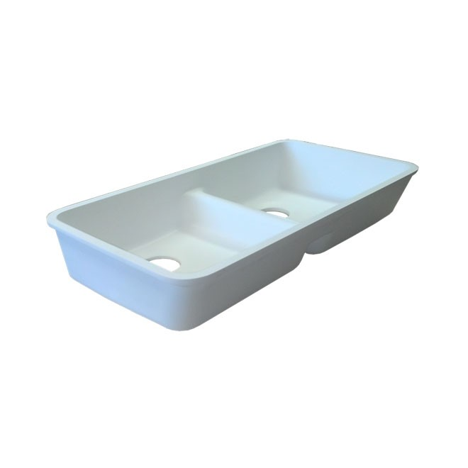 Universal Design Ada Double Kitchen Sink Gemstone Part 2916