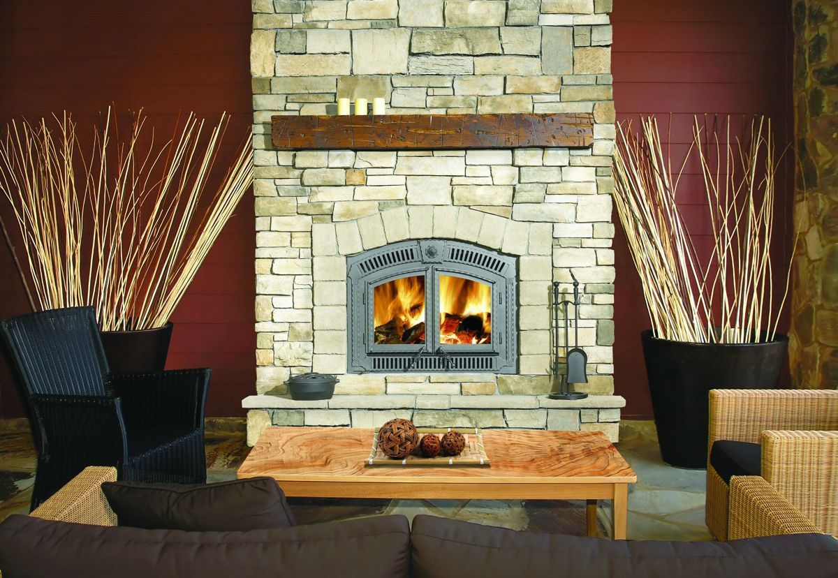 Efficient Wood Burning Fireplaces  Napoleon Fireplaces  Zero Clearance Fireplace