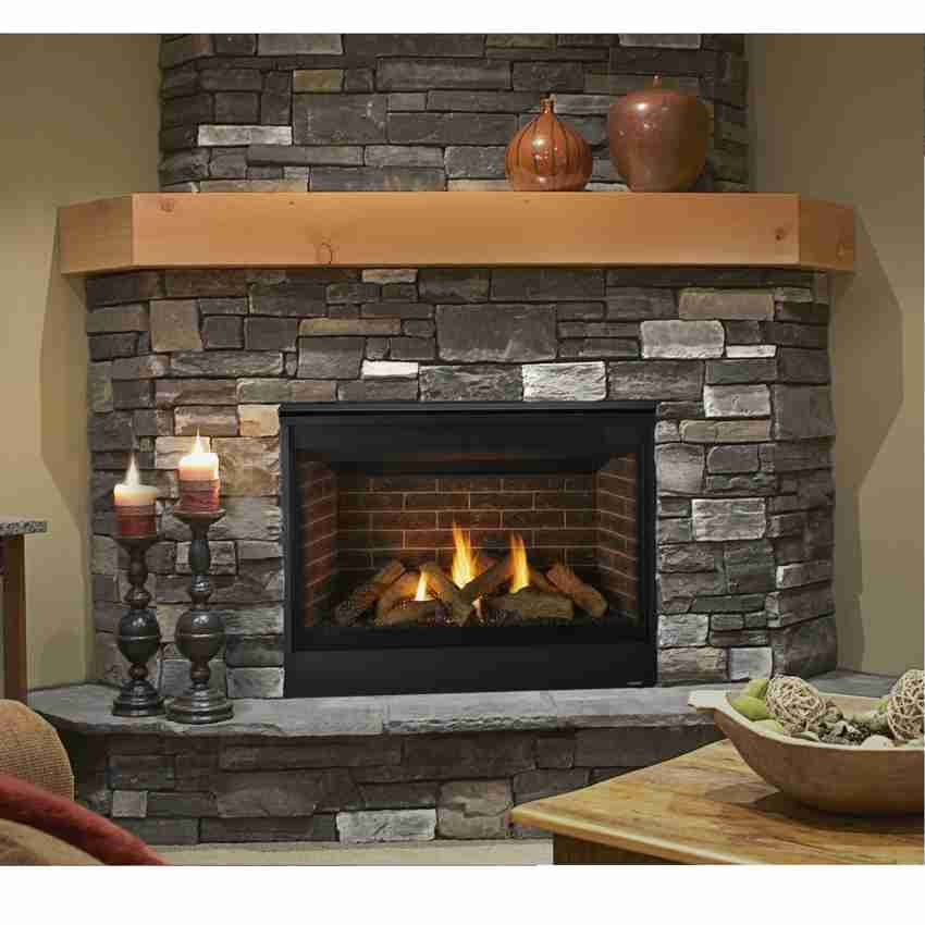 medium resolution of direct vent clean face gas fireplace quartz 42 intellifire ignition majestic