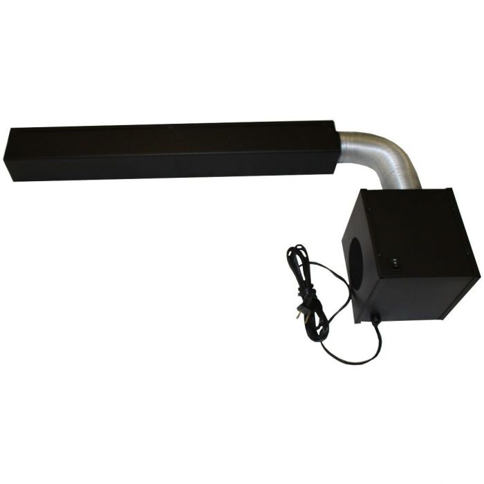 Blower For Large Grate Heater