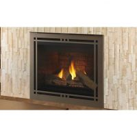 """Majestic 42"""" Meridian Gas Direct Vent Fireplace"""