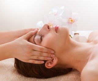 photo of facial massage