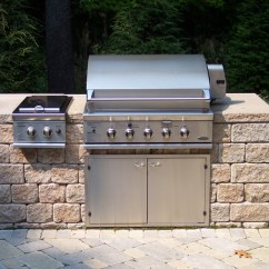 Grill For Outdoor Kitchen Shabby Chic Decor Kitchens Landscaping Services Woodstream Nurseries Gallery