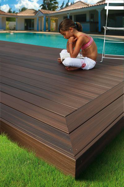 bois composite avec finition impermeabilisante