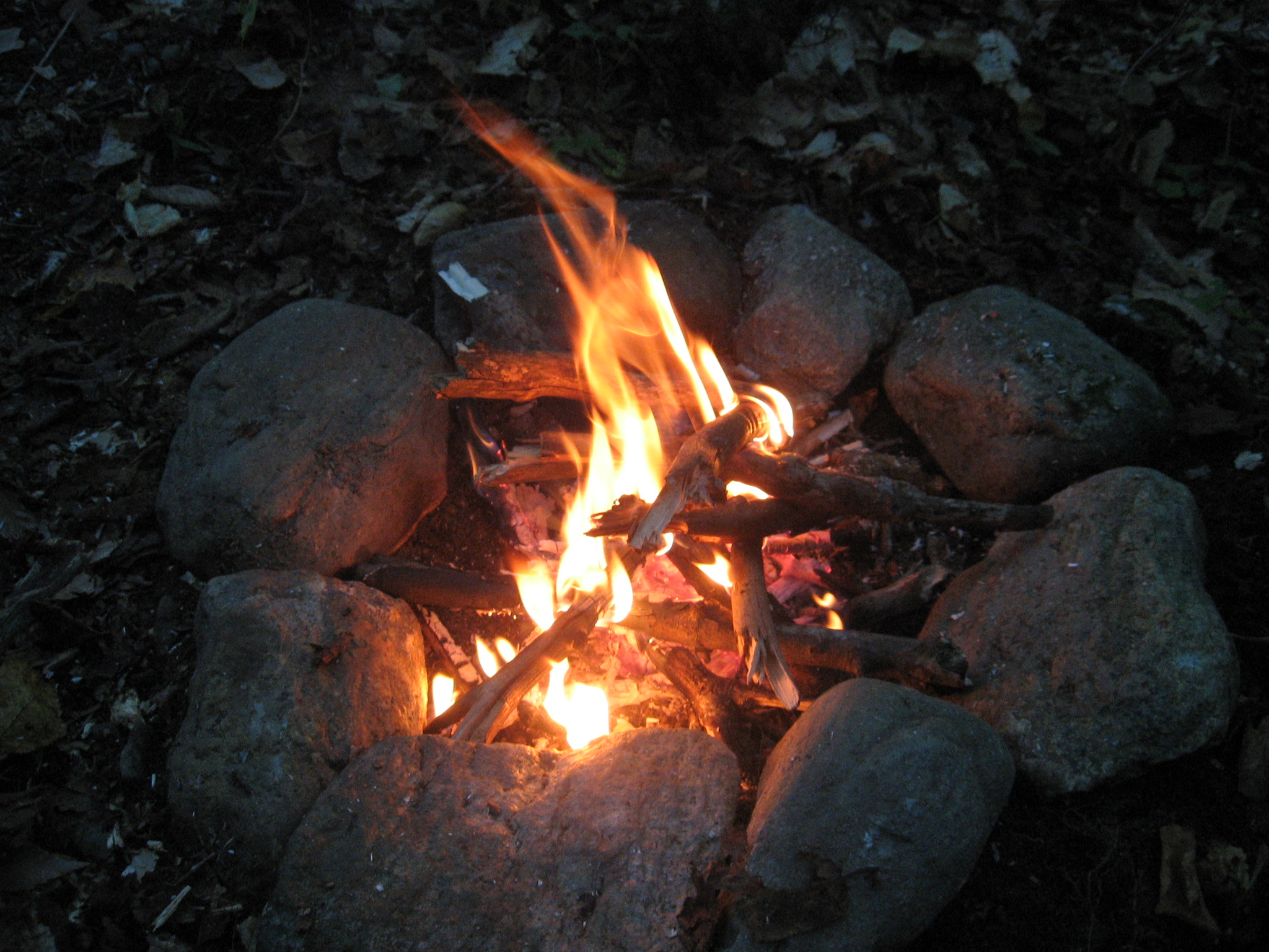 Fall Desktop Wallpaper Load Woods Wanderer 187 Campfire Meditation