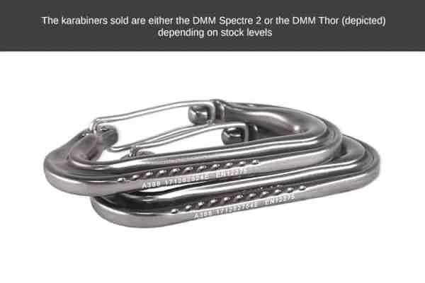 Hammock / Climbing Karabiners x 2 (DMM)