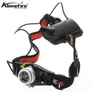 ALONEFIRE HP71 Cree Q5 led 5W Zoomable Headlamp