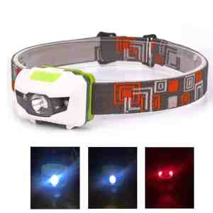 AloneFire HP30 Red / White Light Headlamp